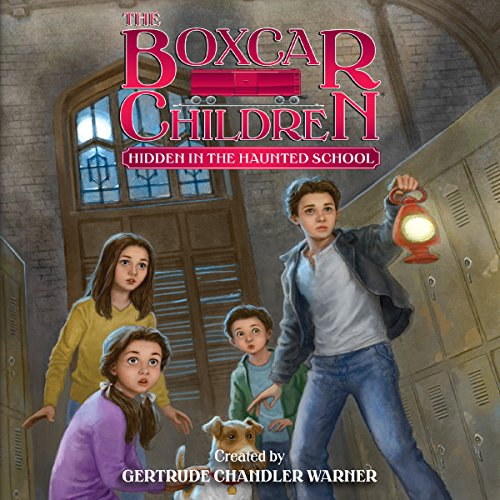 Hidden in the Haunted School Audiobook By Gertrude Chandler Warner cover art