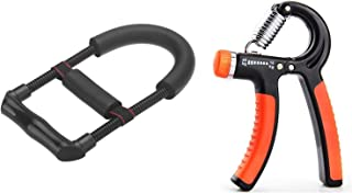 FEGSY Hand Wrist Gripper Exerciser Forearm Strengthener for Home Gym Upper Arm Workout and Strength Training.