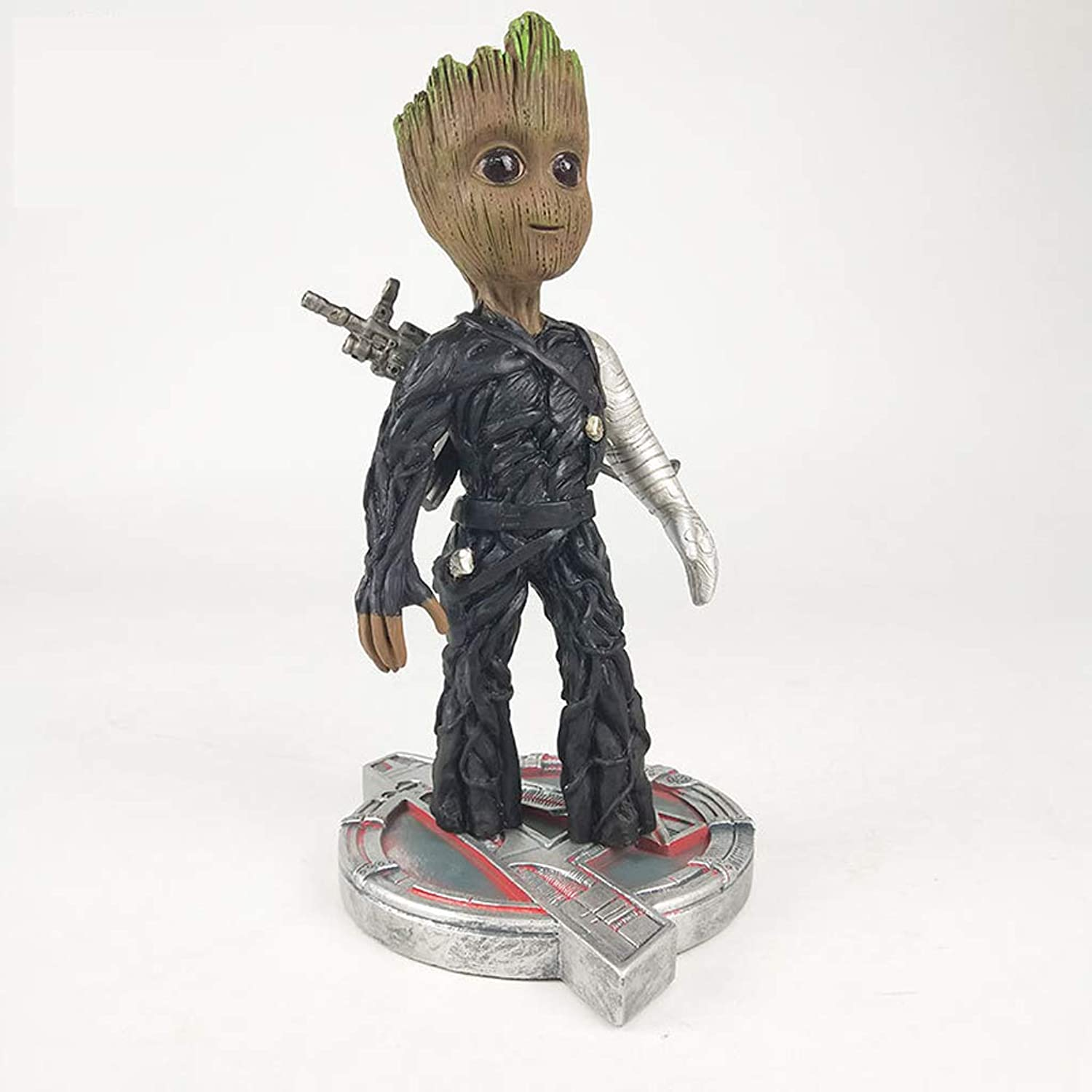 SONGDP Anime toys Galaxy Guard 2 Groot Small Tree People Change America Captain 2 Model Decoration Toy Doll Gift Collection Crafts Ornaments Sculpture 23.5cm Anime sets
