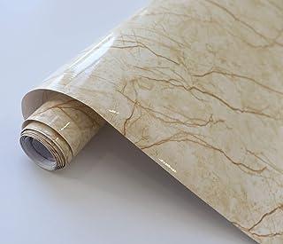 DWIND D9930 Vinyl Peel and Stick Wallpaper Marble Contact Paper Self Adhesive Kitchen Wallpaper 0.6m x 3m, Waterproof Peel...