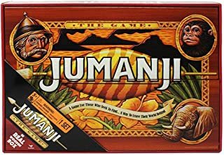 Spin Master Games Deluxe Wood Jumanji - Classic Retro '90s Game (6041476)