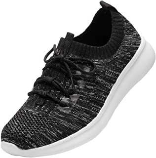 DADAWEN Women's Athletic Walking Shoes Lightweight Casual Breathable Running Sneakers (Size:US5-US12)