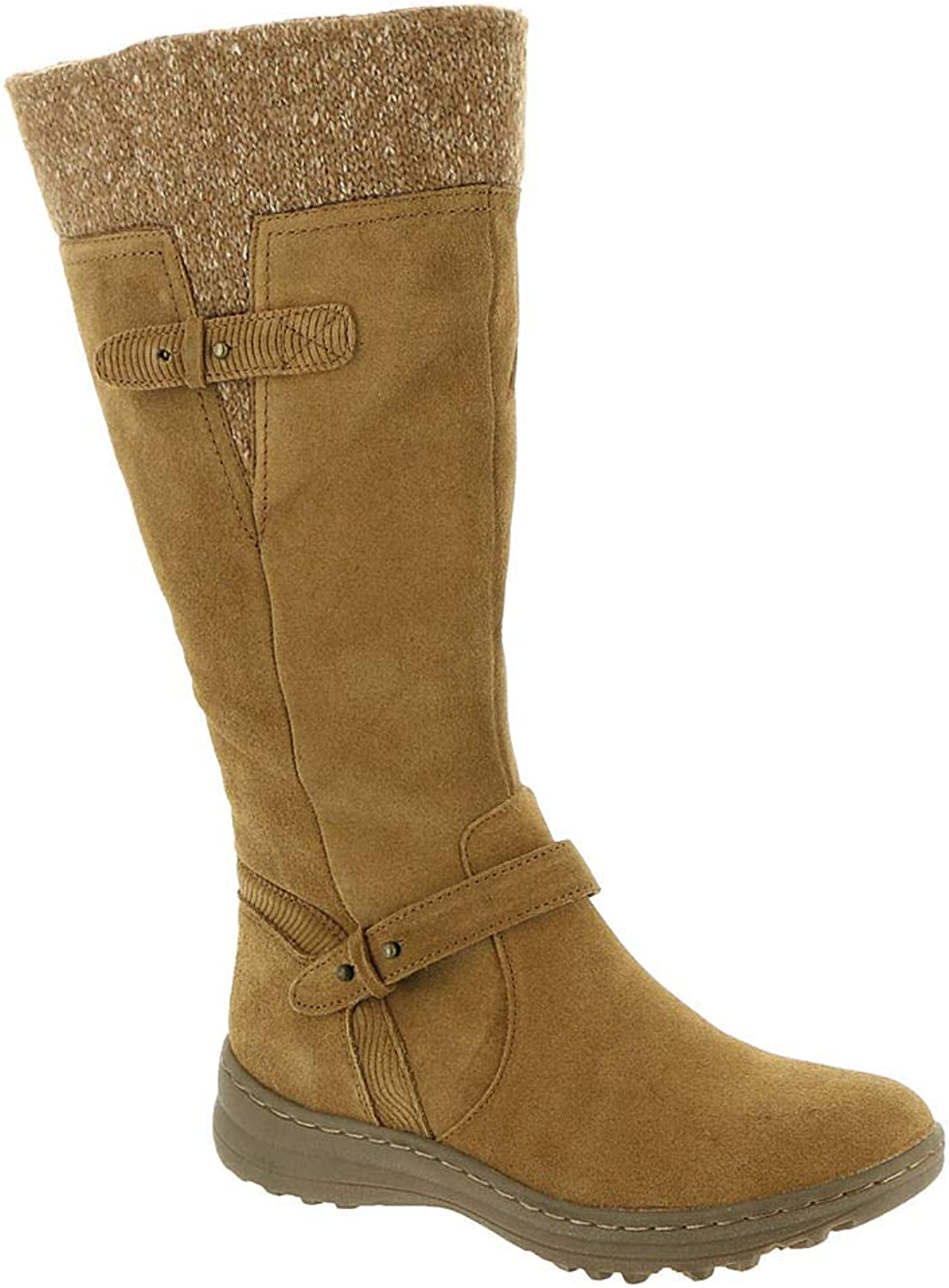 Bare Traps Womens Avalon Leather Round Toe Knee High Cold Weather Boots