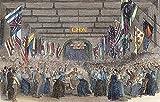 Insane Asylum 1853. /Nan Entertainment for The Patients at