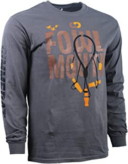 Fowl Mouth Duck Hunting Shirt   Soft Long Sleeve   Mens Boys Gift Father