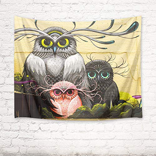 mmzki Tigre/león/Mapache/Gato/pingüino/Caballo/Tapiz de Toalla de Playa decoración del hogar 3 150x100cm