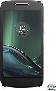 Motorola Moto G4 Play (4th Generation) 16GB Unlocked Smartphone for GSM Carriers Worldwide - Black