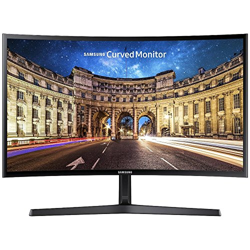 Samsung C24F396 Monitor PC Curvo, 24'' Full HD, 1920 x 1080, 60 Hz, 4 ms, Freesync, Nero