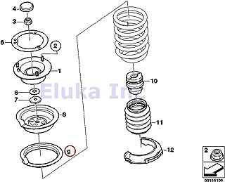 Spacer Genuine BMW  E39 E46 E60 E61 E63 E64 2x Front Upper Coil Spring Pocket w