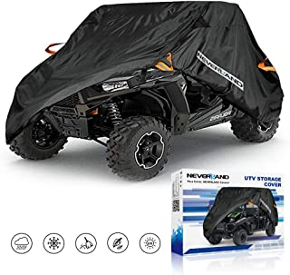 NEVERLAND UTV Cover, Waterproof Heavy 300D Oxford Material for Polaris RZR Yamaha Rhino Can-Am Defender Honda Pioneer Kawasaki Mule Teryx 2-3 Passenger