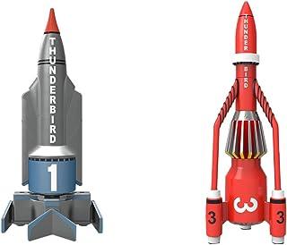 Hornby Corgi Thunderbirds TB2 和 TB4 压铸模型(绿色/黄色) 3 years to 18 years TB1 and TB3 Die Cast Model 灰色和红色
