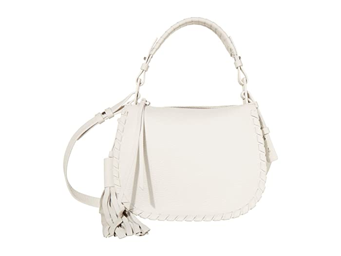 AllSaints  Mori Leather Crossbody (Chalk White) Cross Body Handbags