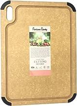 Fortune Candy Wood Fiber Cutting Board, 17.3 x 12.8 inch, Eco-friendly, Knife-friendly, Non-slip Silicone Feet, Juice Groo...