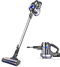 MOOSOO Cordless Vacuum 4 in 1 Powerful Suction Stick Handheld Vacuum Cleaner for Home Hard Floor Carpet Car Pet - XL-618A,...