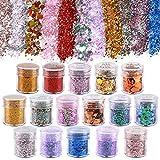 Koogel 16 Farben Glitzer Set