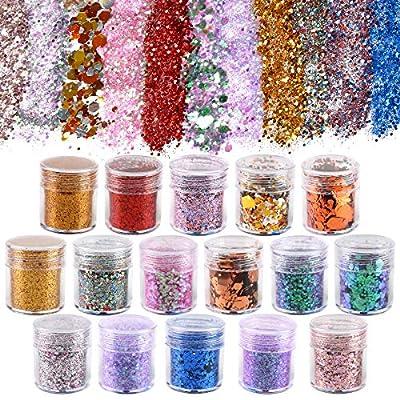 Koogel 16 Farben Glitzer