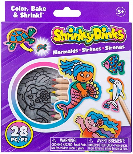 Shrinky Dinks Minis Mermaids Kids Art and Craft Activity