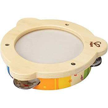 Hape Mr. Tambourine Kid's Wooden Instrument