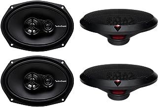 4 New Rockford Fosgate R169X3 6x9 260W 3 Way Car Coaxial Speakers Audio Stereo photo