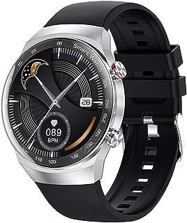 Smart Watch, AK26 Full Touch Bluetooth Call MP3 Muziekspeler Hartslag Bloeddruk IP68 Waterdichte Mannen en Vrouwen Fitness...