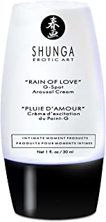 1 oz RAIN OF LOVE FEMALE G-SPOT AROUSAL CREAM includes unique 20%