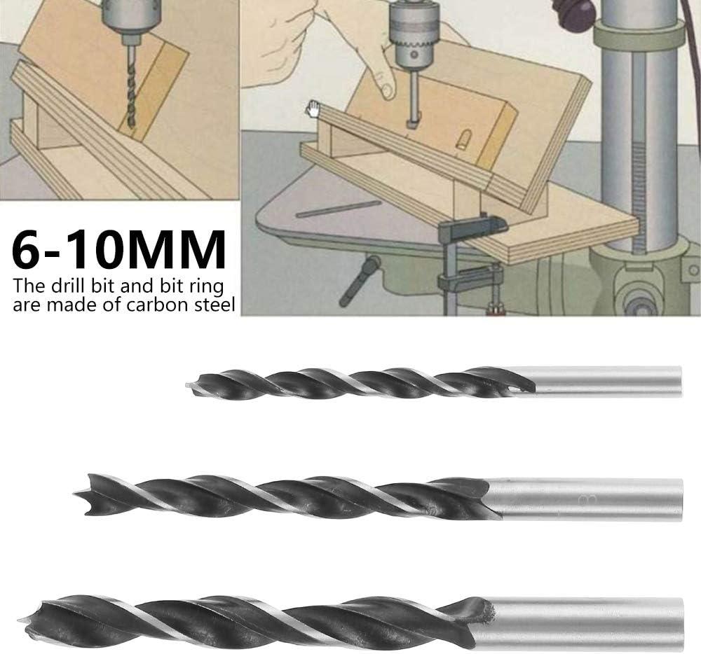 16PCS Pocket Hole Screw Jig Dowel Drill Joinery Kit 6//8//10mm Hole Drilling Bit Woodworking Drill Guide Positioner Locator for Woodworking Pocket Hole Screw Jig 16PCS