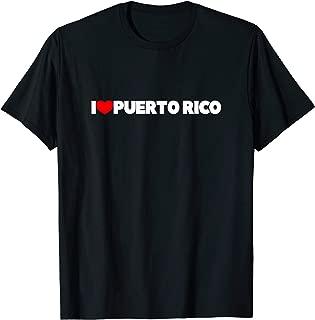 I Love (Heart) Puerto Rico T-Shirt