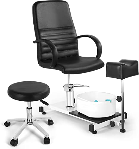 high quality Artist outlet sale hand Pedicure Unit Station Pedicure Unit Pedicure Spa outlet sale Chair with Foot Massage Basin Pedicure Stations for Salon Pedicure Foot Rest outlet online sale
