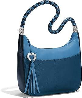 Women's Barbados Ziptop Hobo Shoulder Bags