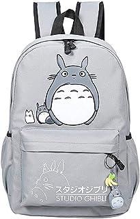 Teenager Cartoon My Neighbor Totoro Backpack Anime Canvas Bookbag Daypack Rucksack