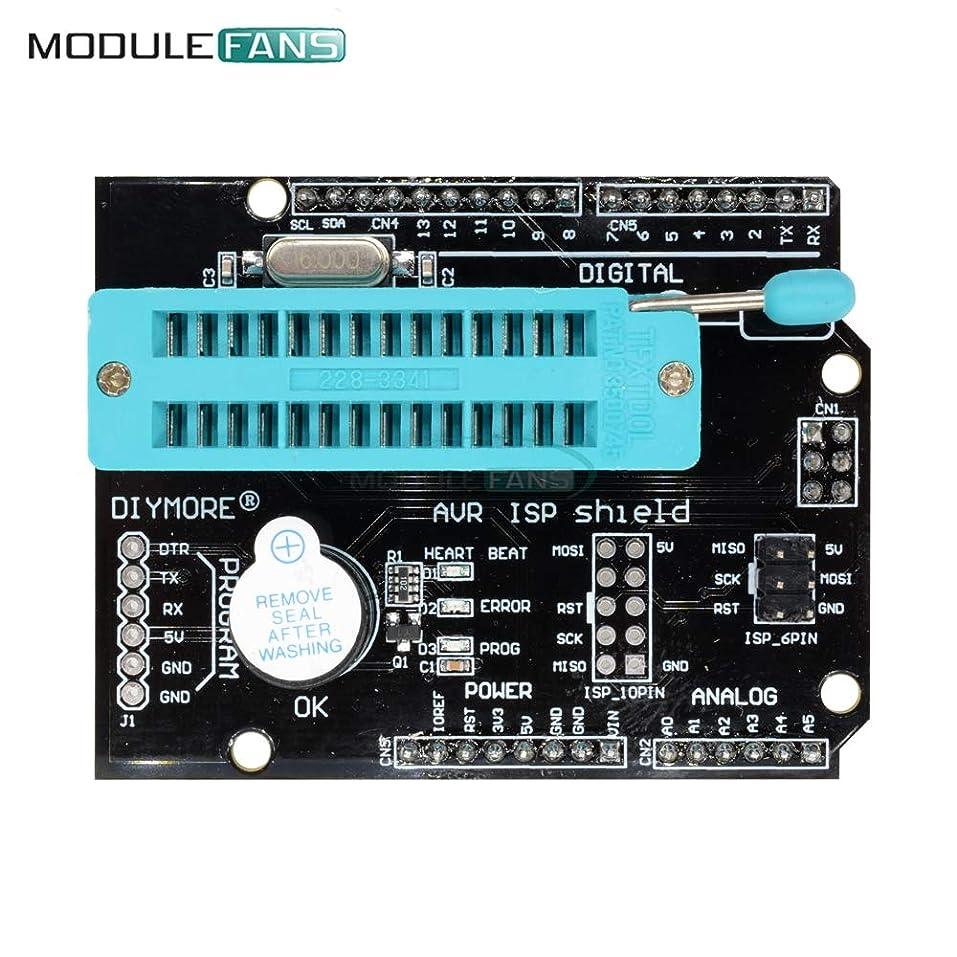 成功するからに変化する読書をするAVR ISP Programmer Expansion Shield Board For Arduino Uno R3 Mega2560 Nano Pro Mini Module Atmega328P Bootloader Burner SPI