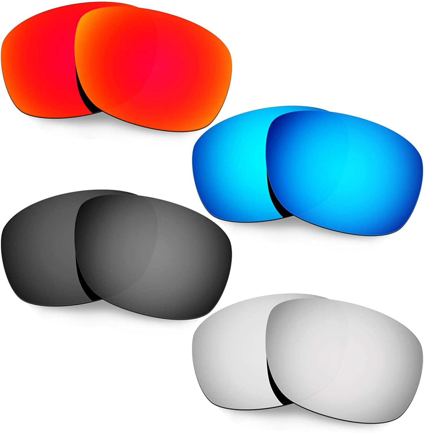 HKUCO Mens Replacement Lenses for Ten Oakley National products Sunglasses Finally popular brand X