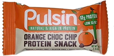 Pulsin Orange Choc Chip Protein Bar 2 x 50g UK Estimated Price : £ 10,28