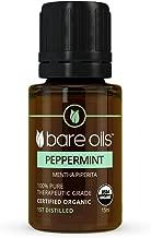 Peppermint Essential Oil 15ml Bare Oils USDA Certified Organic