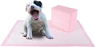 QOZY Pet Training Pad 60x60cm-40Pcs, Dog and Puppy Pee Pads, Disposable Heavy Duty Thick Ultra Absorbent for Paws Wee-Wee,...