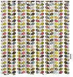 DecorLovee Orla Kiely Colorful Leaf Shower Curtains for Bathroom Art Decor,...