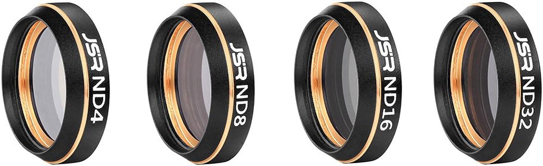 EDTara Lens Filters Air Lens Filters Kit Multifunctional Lens Filter Sunhood for MAVIC AIR
