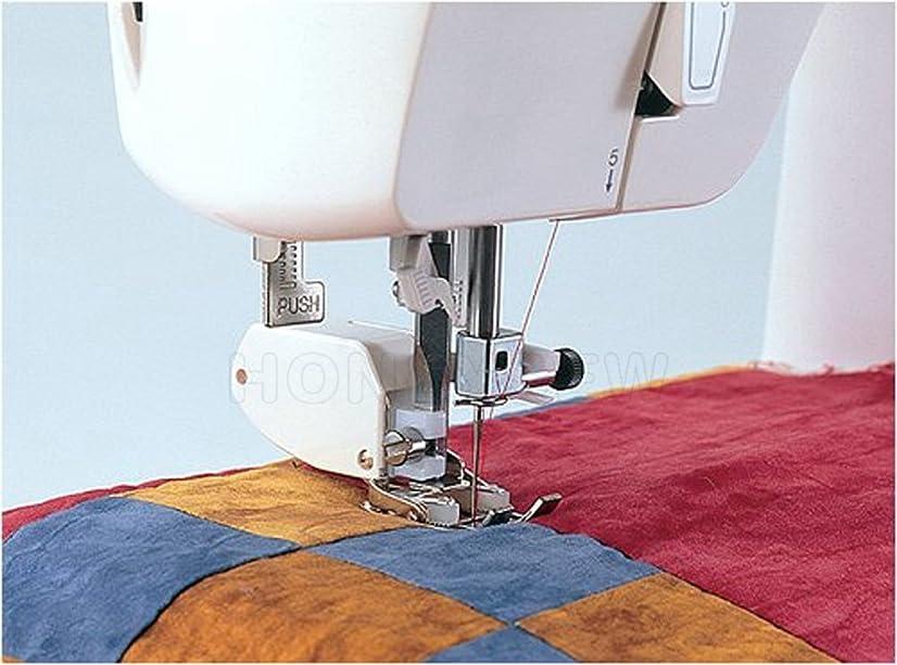 HONEYSEW Presser Foot SA107 Walking Foot Low Shank for Brother Singer Juki Sewing Machine