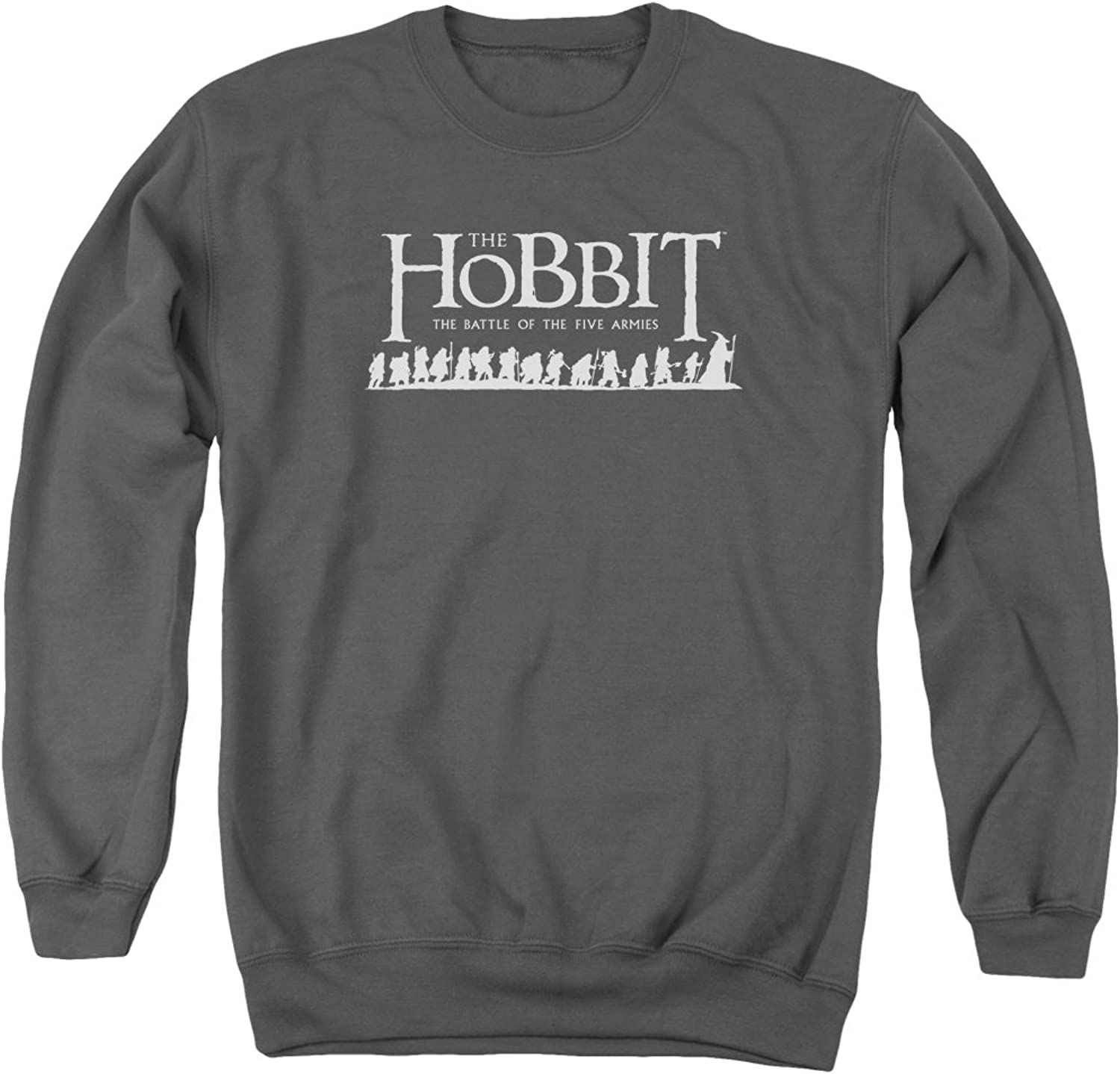 Lord of the Rings The Hobbit The Battle Of Five Armies Bilbo Company Adult Crewneck Sweatshirt