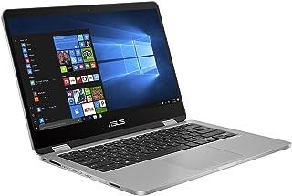 Asus Vivo Book TP401MA-BZ214TS Intel N4020/BGA Processor , 4GB RAM , 128 HDD , SHARED , 14 HD TOUCH , WIN10 , LIGHT GREY