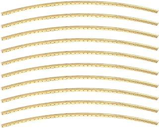 Bnineteenteam Golden Brass Fret for Acoustic Guitar Replacement Fret (10 pcs a Set)