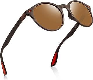 サングラス レディース 偏光レンズ ミラー 超軽量 UV400紫外線カット自転車 ドライブ ランニング 釣り 登山 レトロ おしゃれ メガネ拭き ケース付き 2163