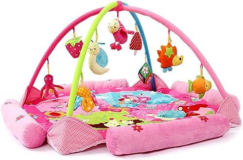 Lvbeis Baby Spieldecke Spielbogen Gym Mit Musik Krabbeldecke Activity Wolldecke FüR Neugeborene Spielmatten