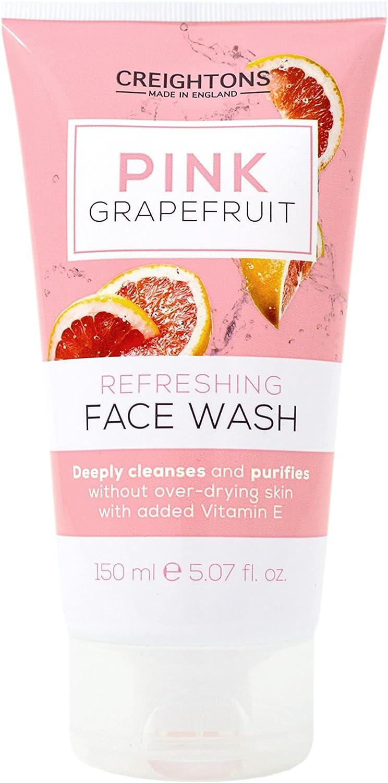 Creightons Charcoal Skincare Pink Grapefruit Gel Limpiador Facial 150 ml (CN7734)