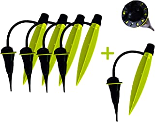 Automatic Watering Stakes - French Innovation - Up to 30 Days Autonomy - 5 Pack - Ideal for Vacation - The eco Smart Drop-by-Drop Watering System