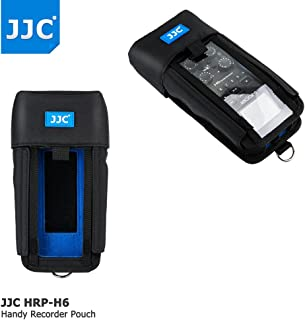 JJC Protective Pouch Case Bag for Handy Portable Recorder Zoom H6 Case replaces Zoom PCH-6