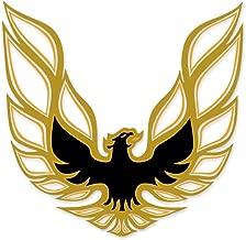 1973 1974 1975 1976 1977 1978 Pontiac Firebird Trans Am Sail Panel Bird Decals - Gold
