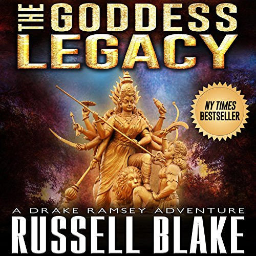 The Goddess Legacy audiobook cover art