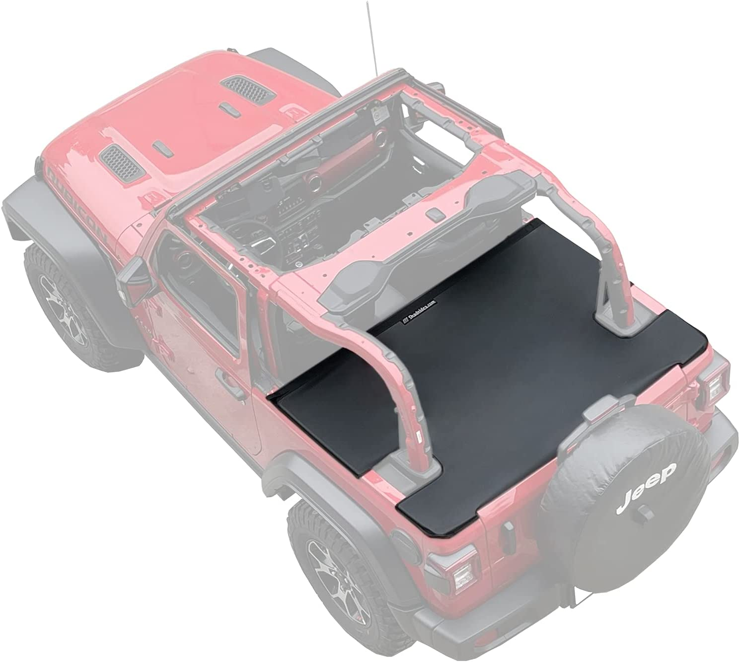 Opening large release sale Super beauty product restock quality top Shadeidea Wrangler JL Tonneau Cover for Door Trunk T Jeep 2 Rear