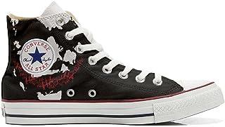 Scarpe Sneakers Personalizzate (Uomo/Donna) Originali Hi Canvas, Sneaker Unisex (Prodotto Artigianale) Face Art